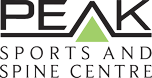 Peak sports and spine centre logo